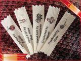 Escritura de la etiqueta principal de la escritura de la etiqueta de la impresión del algodón suave principal de la ropa