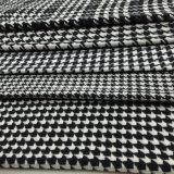 5 generi di nero & di bianco del tessuto delle lane di Houndstooth