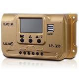 10-50A LCD表示が付いている太陽系のための太陽料金のコントローラ12V/24V