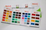 Cartão de cor personalizado de alta qualidade para produtos químicos