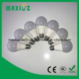 bulbo del globo del aluminio A19 LED de 5W 7W 9W 12W con 2 años de garantía