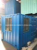 Sitio del envase modificado moderno flexible del bajo costo del beneficio inferior casa prefabricados/prefabricados de la sol/