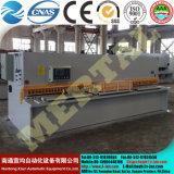 Quente! QC12y (K) do feixe hidráulico do balanço de -8*4000 máquina de corte (CNC)