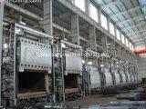 圧延製造所の抵抗炉