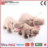 Plüsch-Flusspferd-Spielwaren China-lebensechte weiche angefüllte Aniaml