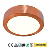 luz del panel montada superficial del techo LED de 6W 12W 18W