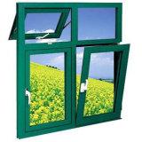 Aluminiumflügelfenster-Fenster-Zeichnungs-Neigung-und Drehung-Fenster-Einbrecher-Entwürfe