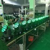 Feixe movente 12X12W do diodo emissor de luz da cabeça do estágio do disco de DMX
