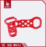 Il Hasp d'acciaio di bloccaggio della Doppio-Fine Bd-K62 consente a a 6 lucchetti