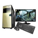 Montaje de la computadora personal de escritorio DJ-C002 con monitor de 17 pulgadas