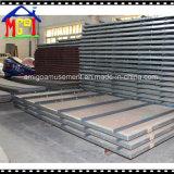 遊園地の原料の鋼板