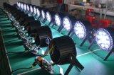 Свет РАВЕНСТВА профессионала IP44 СИД RGBWA+UV для освещения этапа с разъемом Neutrik Powercon True1