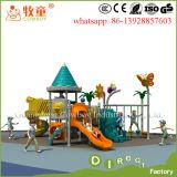 Vergnügungspark-Kind-im Freien verwendete Spielplatz-Plastikplättchen