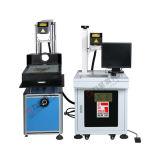 Gravador do cortador do laser da placa de identificação do metalóide para o couro