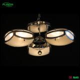 Lampada di vetro del lampadario a bracci del quadrato moderno di stile per la casa
