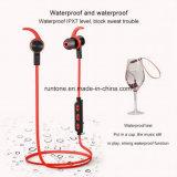 De Oortelefoons van de Sport van de Hoofdtelefoon van de Agent van Earbuds van Bluetooth met Mic en de Waarborg van Sweatproof van het Leven