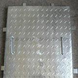 Reja de acero compuesta antideslizante para la cubierta del foso