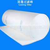 Rodillo del filtro del techo del aire del vidrio de fibra del colector del material/de polvo del filtro del techo de la cabina de aerosol
