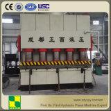 Tipo de marco máquina hidráulica de la prensa de la piel de la puerta de la máquina 3000t de la puerta de acero de la prensa que graba hidráulica