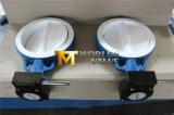 Клапан-бабочка вафли места утюга EPDM шестерни глиста управляемая дуктильная