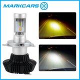 Markcarsの自動照明2200k 6500k車のヘッドライトランプ