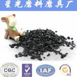 Cáscara de nuez de carbón activado para la eliminación de benceno