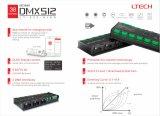 OLEDの表示DMX 512/RdmコントローラDMX/Rdmのデコーダーが付いている3A*32CH DMXのデコーダー