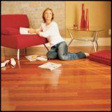 Plancher conçu choisi de bois de construction de Jatoba