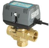 Клапан воды Хониуэлл 3 дорог термостатический смешивая моторизованный (HTW-V61)