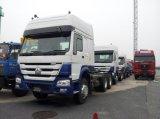 6X4 Zware Vrachtwagen HOWO die met Ton 80-100 Capaciteit trekken