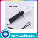 Bluetooth SteueraluminiumSelfie Stock mit Kabel für Handy-Kamera