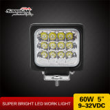 "High Power Output 60W 5 ""LED Heavy Duty Work Light"