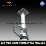 調節可能な型枠Tのヘッド足場支柱
