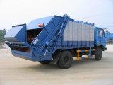 HOWO 4*2のごみ収集車の水圧シリンダ、ホックの上昇のごみ収集車、塵芥収集車のトラック