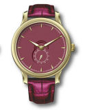 Cuatro simples abundantes de las correas de cuero de los colores impermeabilizan el reloj
