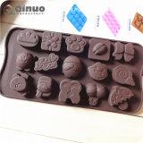 Nicht Silikon-Süßigkeit-Formen des Stock-3PC für Kuchen-Dekoration, Eis-Würfel