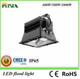Projector ao ar livre poderoso do diodo emissor de luz do campo de futebol 400W
