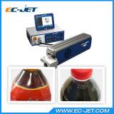 Impresora laser del CO2 de la impresora del código de barras para la botella plástica (EC-laser)