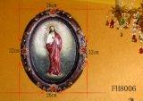 De godsdienstige Plaque van de Muur voor de Decoratie van Kerstmis