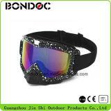 Óculos de proteção elásticos do motocross da cinta da venda quente