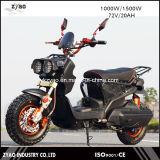 """trotinette"" elétrico do Vespa de 72V 1000W, ""trotinette"" ereto elétrico do Moped de 2 rodas para a venda"