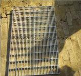 Reja galvanizada del acero de la INMERSIÓN caliente de la calzada de la plataforma