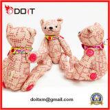 움직일 수 있는 팔 및 다리를 가진 합동된 곰에 의하여 합동되는 장난감 곰