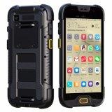 5 pouces 4G Lte IP68 raboteux imperméabilisent Smartphone avec le scanner de code de Qr du code barres 1d/2D, unité de collecte de données, périphérique portable industriel