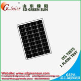 el mono panel solar de 18V 110W 115W para el sistema 12V (2017)