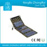 Côté d'énergie solaire avec le chargeur de sauvegarde pliable de téléphone cellulaire de batterie de panneaux solaires pour des téléphones/appareil-photo