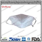 Respirador de partículas plegable plano del polvo disponible con el certificado del Ce
