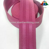 1.5 tessitura di nylon rossa della cintura di sicurezza della Rosa di pollice 5-Panel