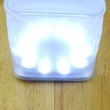 Indicatore luminoso di campeggio della mini lanterna solare all'ingrosso del cubo