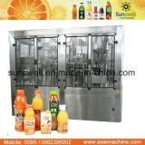 Machine chaude de jus de fruits de remplissage
